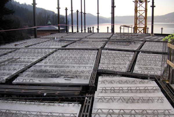 Mixed steel-concrete beam and column Beam NPS® BASIC by Tecnostrutture