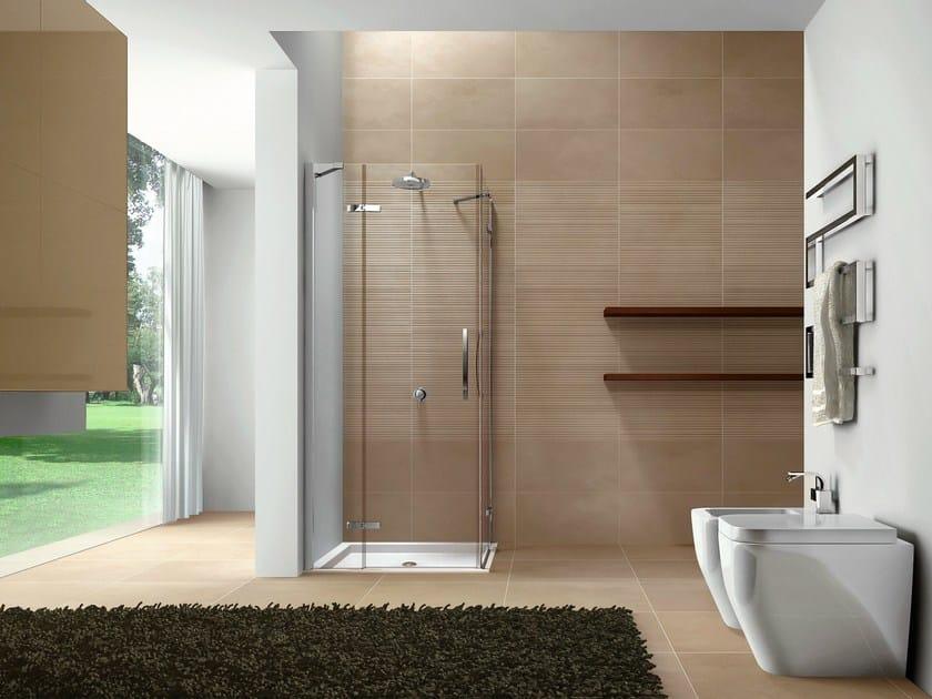 Corner shower cabin CLIP08 By DISENIA