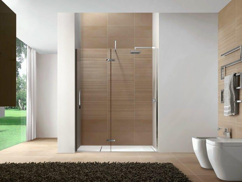 Rectangular Aquatek shower cabin CLIP02 by Idea
