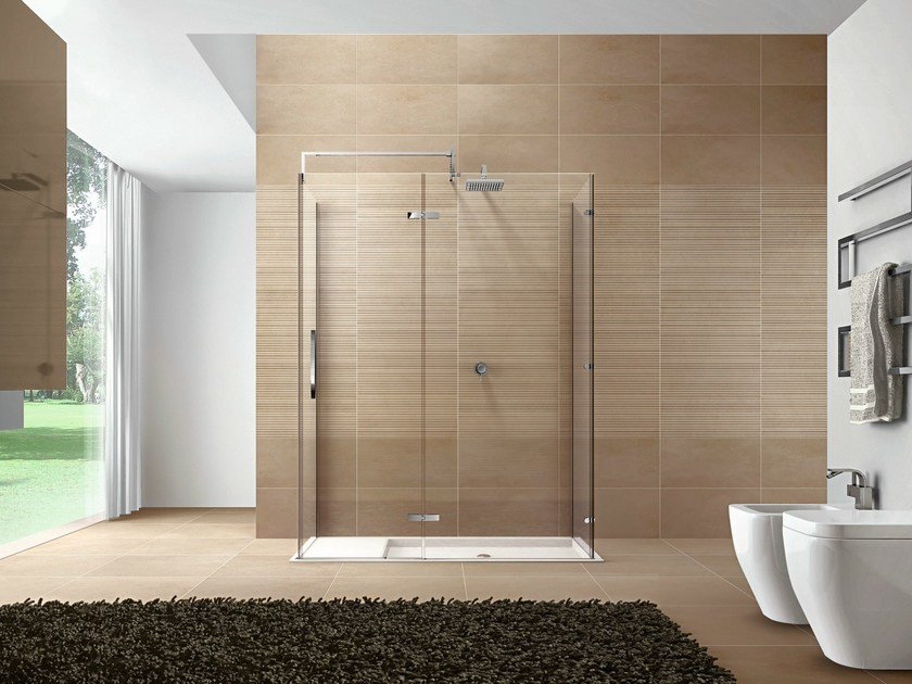 Rectangular Aquatek shower cabin CLIP11 By DISENIA