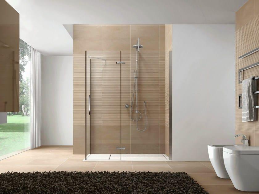 Rectangular Aquatek shower cabin CLIP04 by Idea