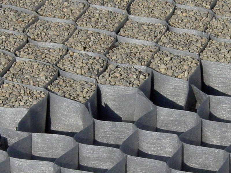 Ground and foundation consolidation DuPont™ Plantex® GroundGrid® by DuPont Protection Solutions