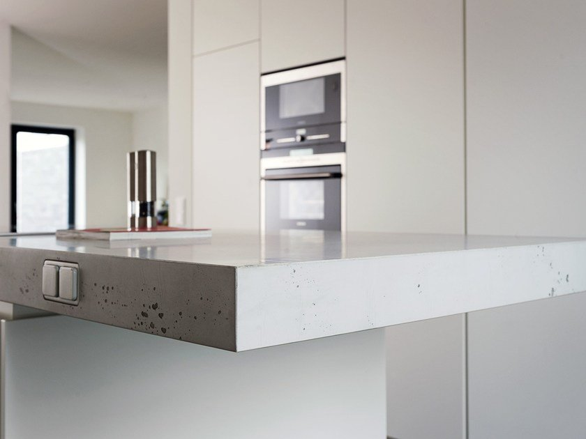 Wood-product kitchen worktop IMI-PLUS® by LEGNOPAN