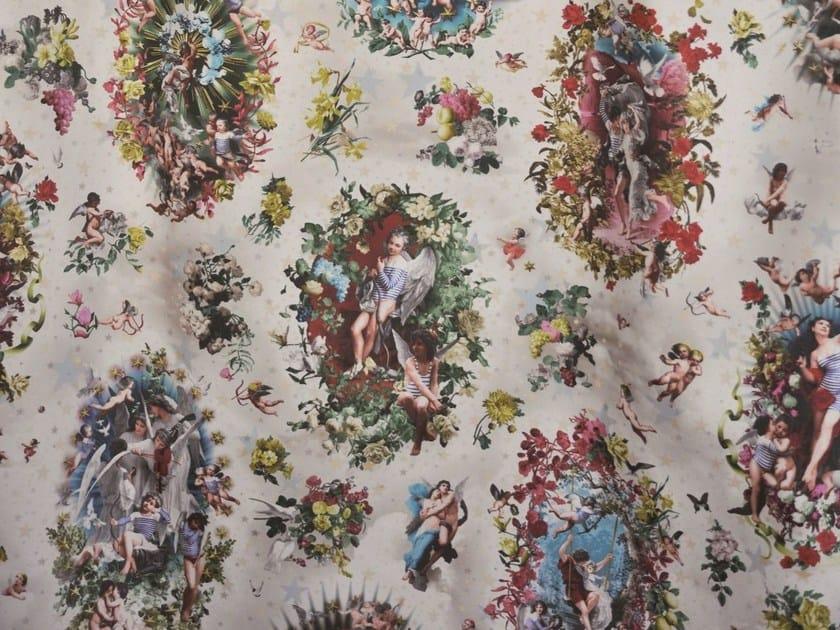 Multi-colored cotton fabric JEAN PAUL GAULTIER - ANGELOTS by LELIEVRE