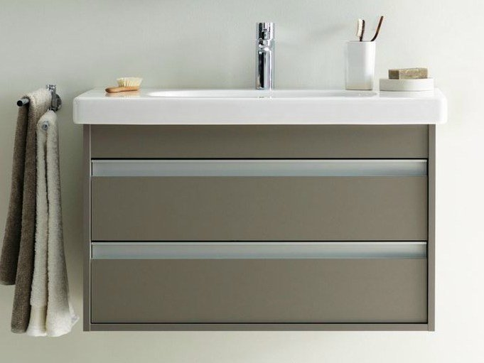Vanity unit with drawers KETHO | Vanity unit with drawers by Duravit