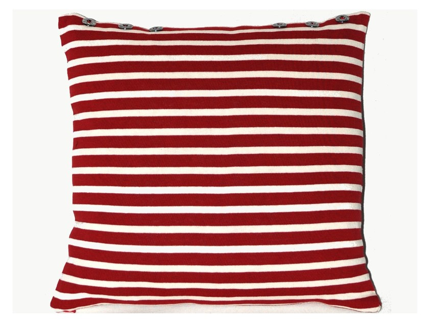 Square cotton cushion PETIT MARIN by LELIEVRE