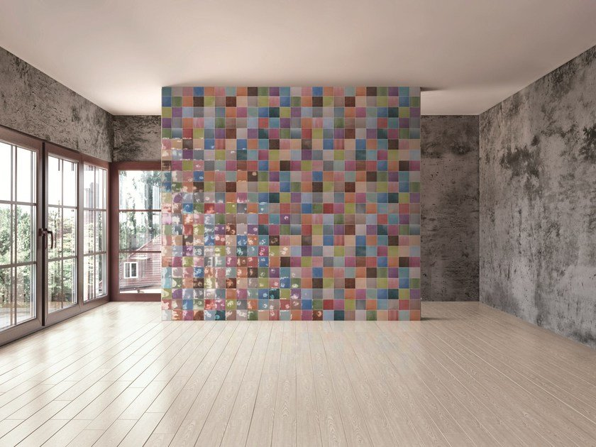 Indoor quarry wall tiles GEOGRAPHICA by AREZIA