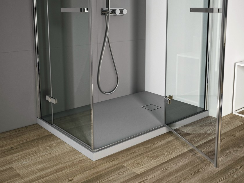 Rectangular shower tray SMART | Technogel® shower tray by Idea