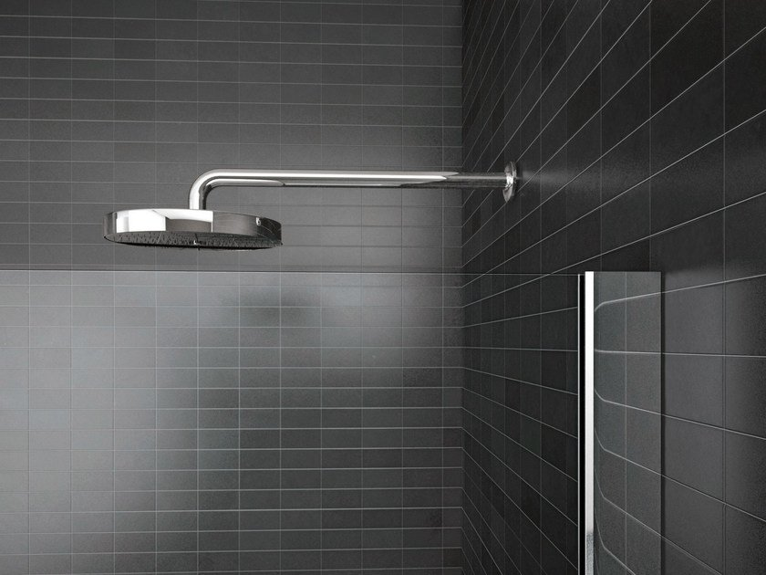 Wall-mounted steel overhead shower WALK-IN | Overhead shower by Idea