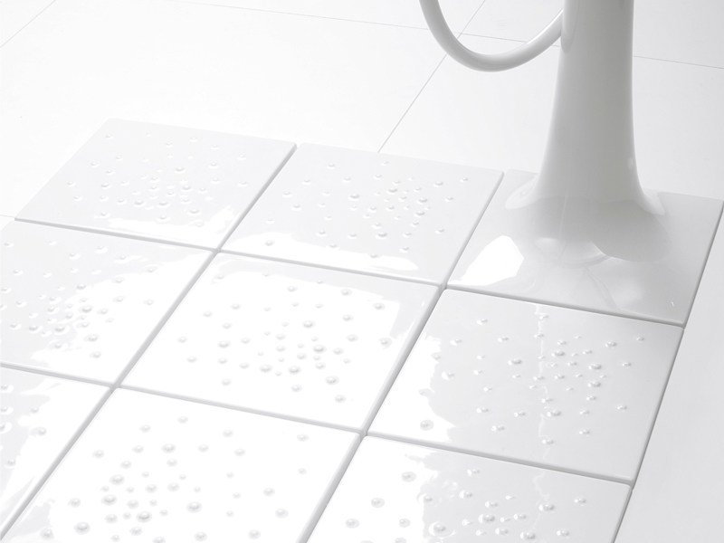 Anti-slip flush fitting modular shower tray ALBERO | Shower tray by CERAMICA FLAMINIA