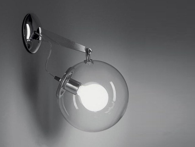 Direct light fluorescent wall lamp MICONOS | Wall lamp by Artemide