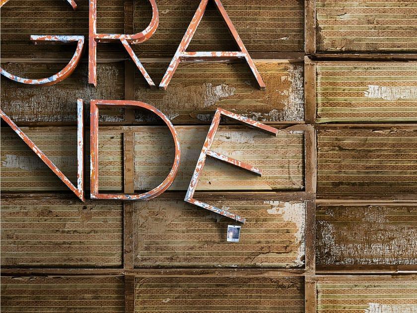Brick effect wallpaper C-PANEL by Wall&decò