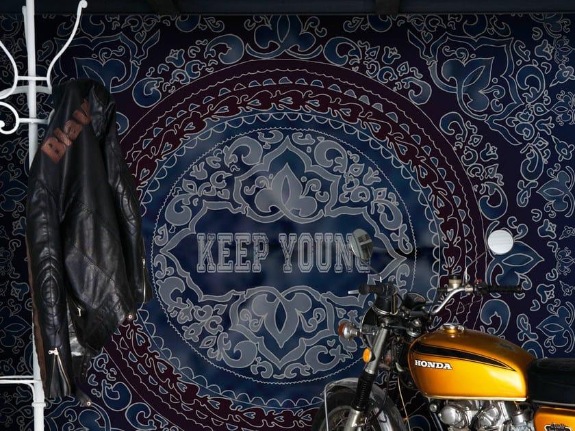 Motif wallpaper KEEP ME by Wall&decò