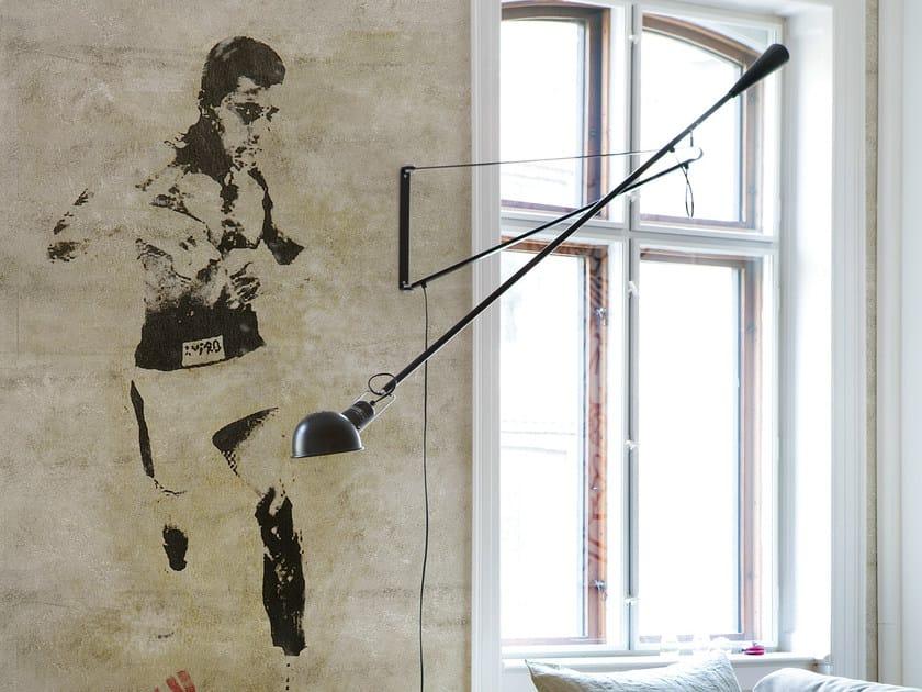 Wall effect wallpaper KO by Wall&decò