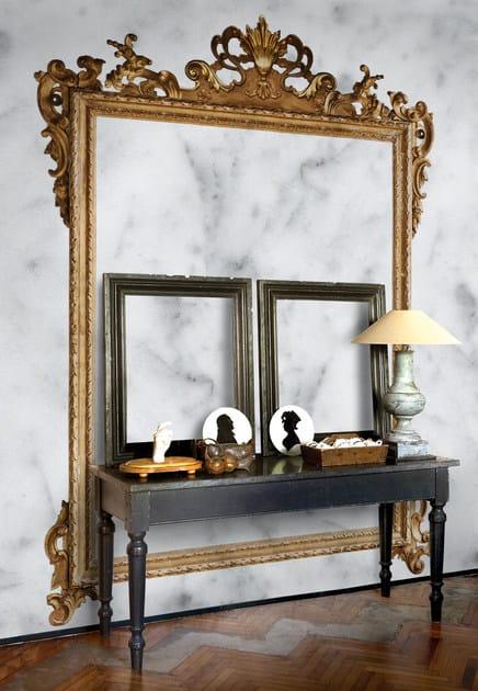 Wall effect trompe l'oeil wallpaper LOUIS XV by Wall&decò