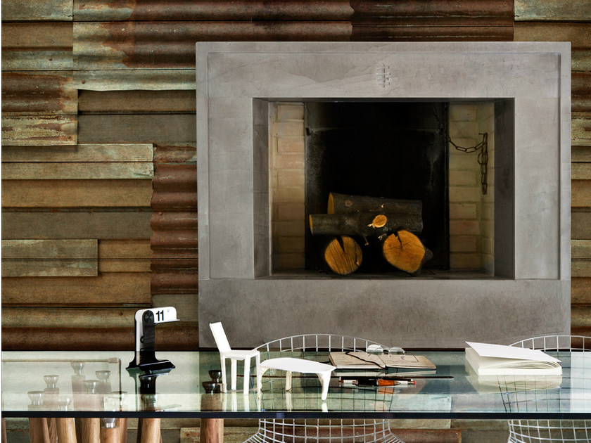 Stone-effect HOME SWEET HOME by Wall&decò