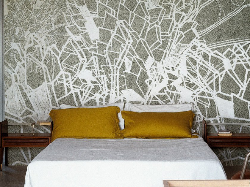 With floral pattern DRAWING by Wall&decò