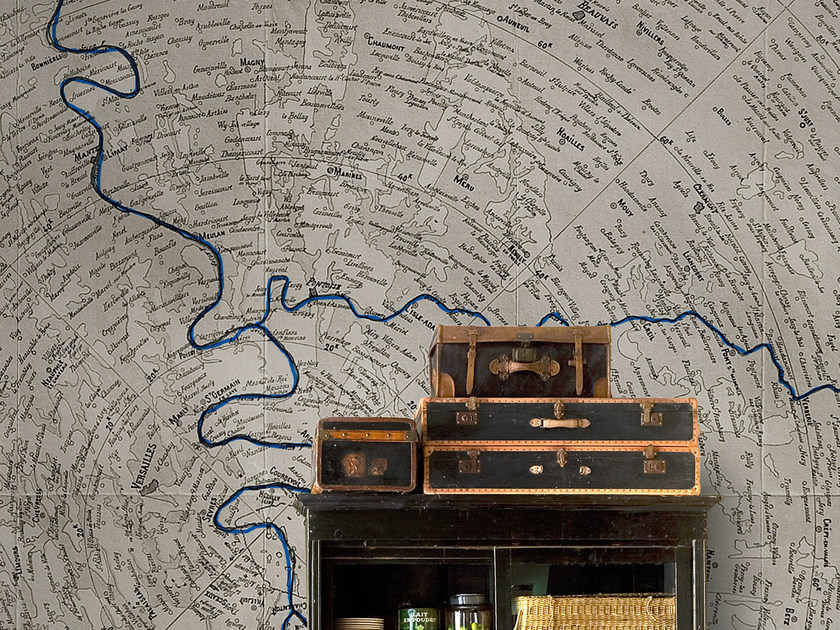 Panoramic writing wallpaper STILL ANOTHER ONE by Wall&decò