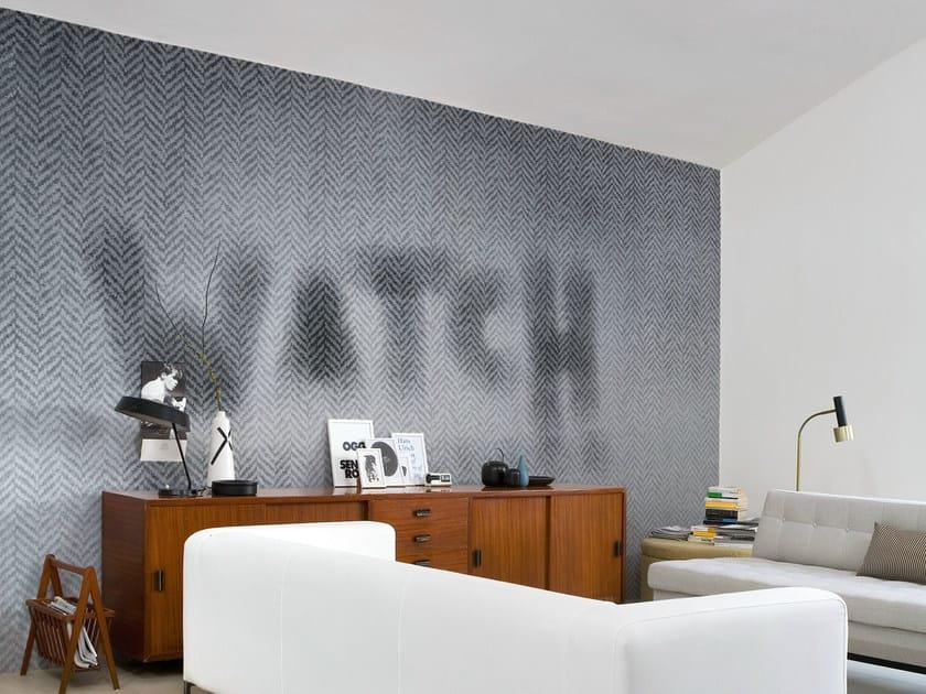 Geometric writing WATCH by Wall&decò