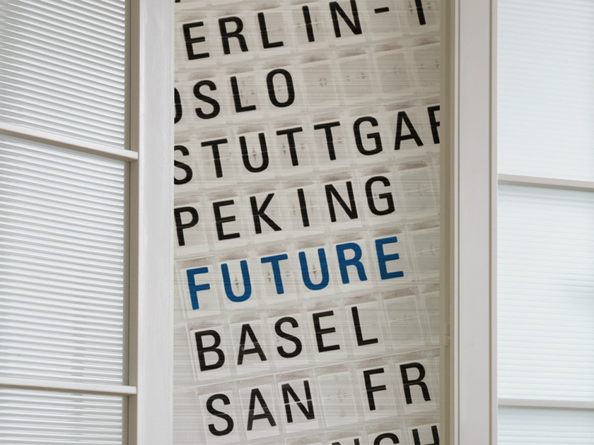 Writing wallpaper FLY TO THE FUTURE by Wall&decò