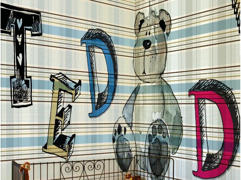 Tartan kids wallpaper GUGU GAGA by Wall&decò
