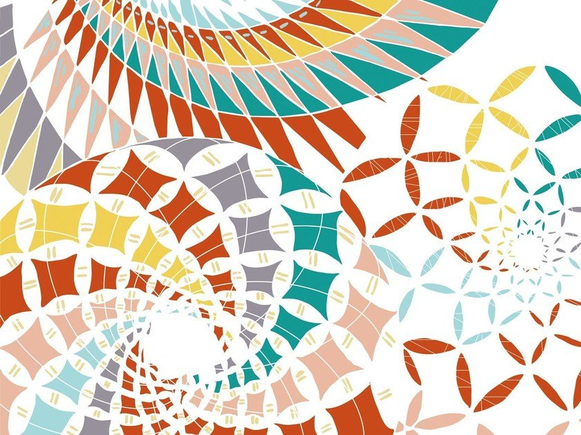 Geometric PINA COLADA by Wall&decò