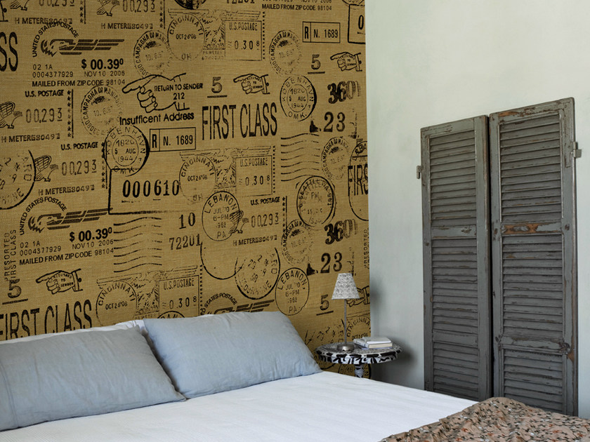 Writing wallpaper SEND YOUR THINK by Wall&decò