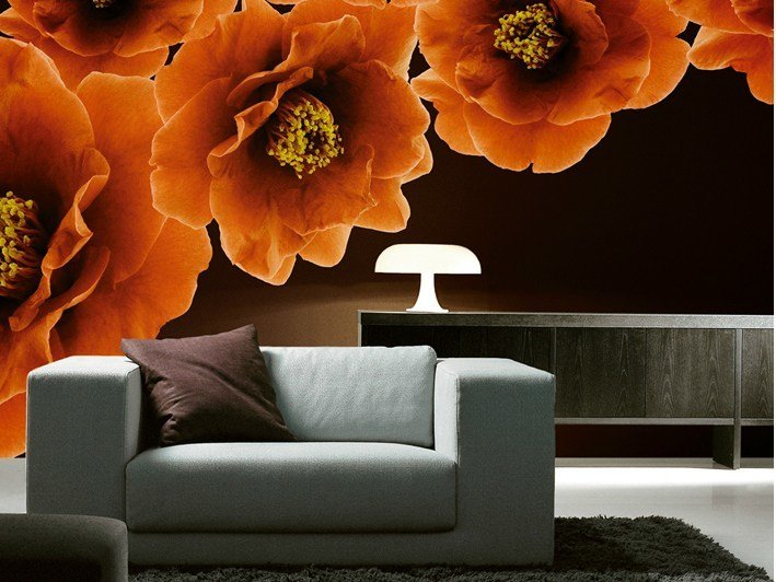 With floral pattern BLOOM by Wall&decò