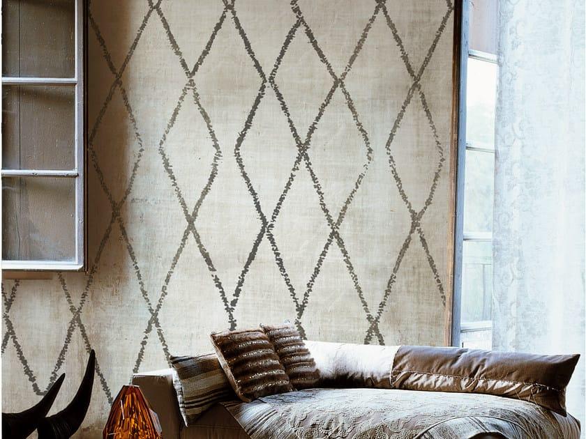 Geometric wallpaper SIGNORINA by Wall&decò
