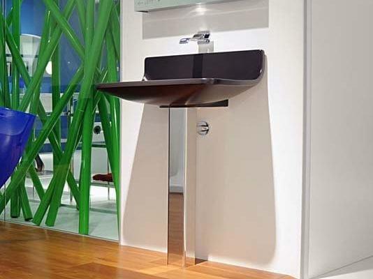 Pedestal ceramic washbasin PLATE | Pedestal washbasin by CERAMICA FLAMINIA