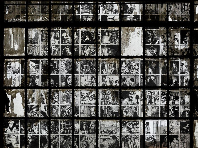 Screenprinted BAD BOYS by Wall&decò