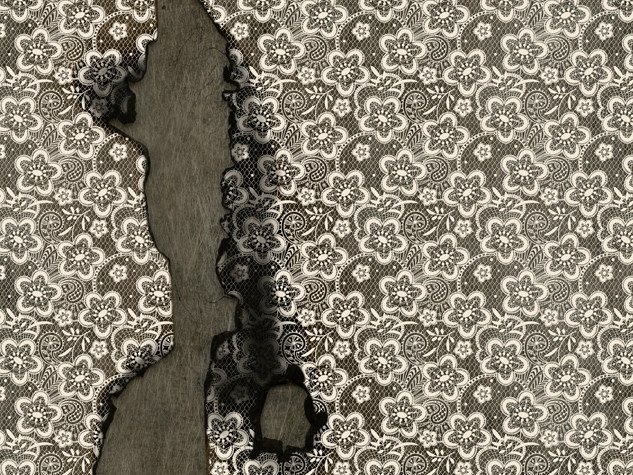 Wallpaper with floral pattern TIME by Wall&decò
