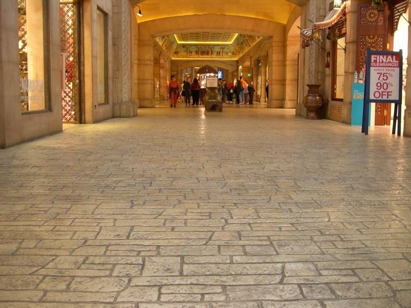 Concrete floor tiles DECOTOP OVERLAY by Stone International
