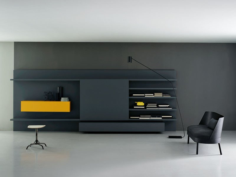 Modular Storage wall MODERN by Porro