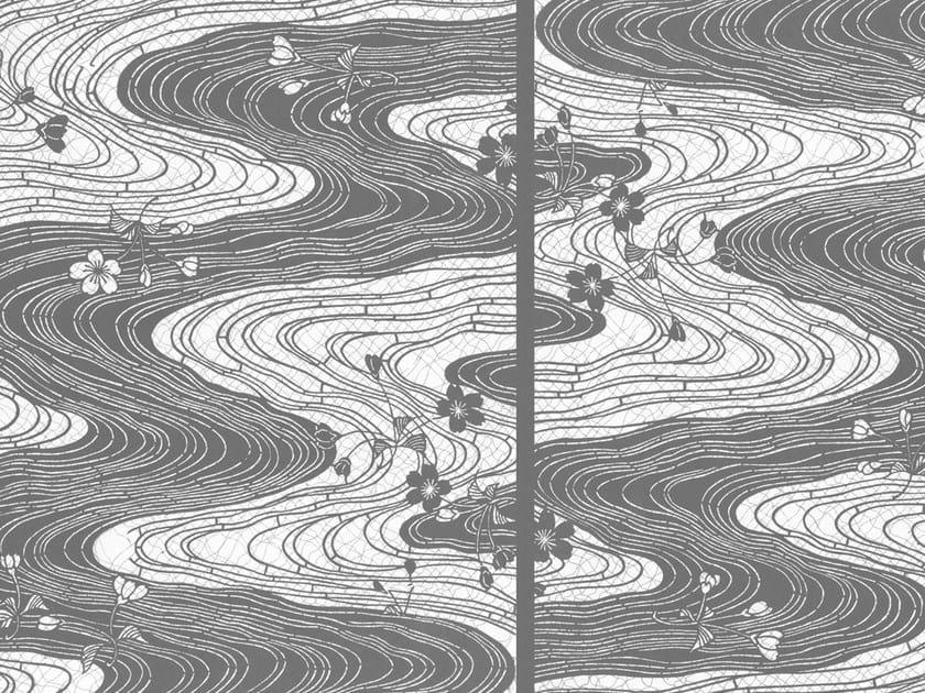 Motif wallpaper MEETING ACROSS THE RIVER by Wall&decò