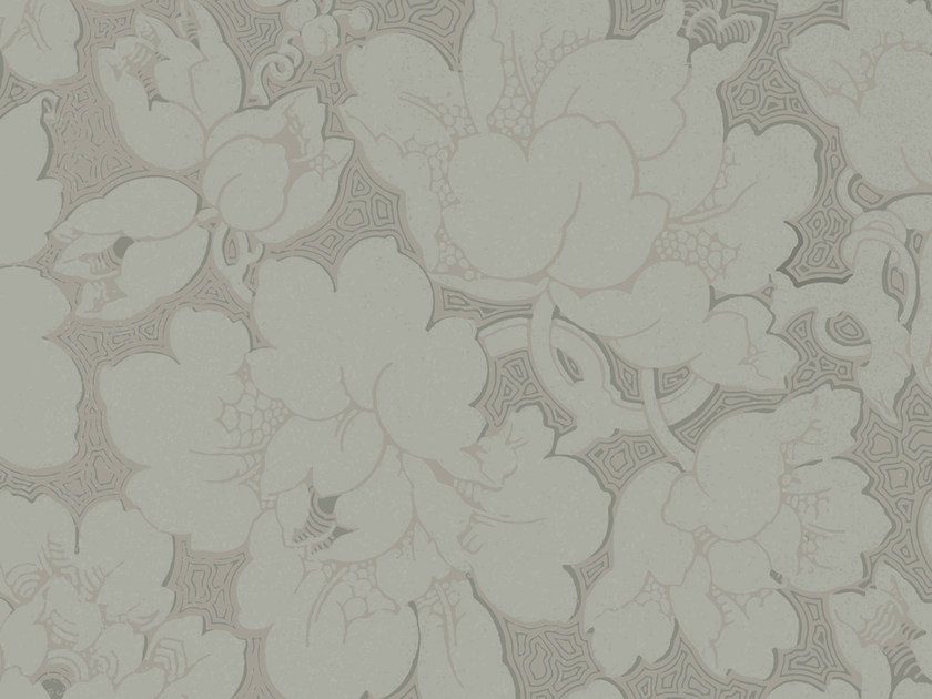 Wallpaper with floral pattern THE RISING by Wall&decò