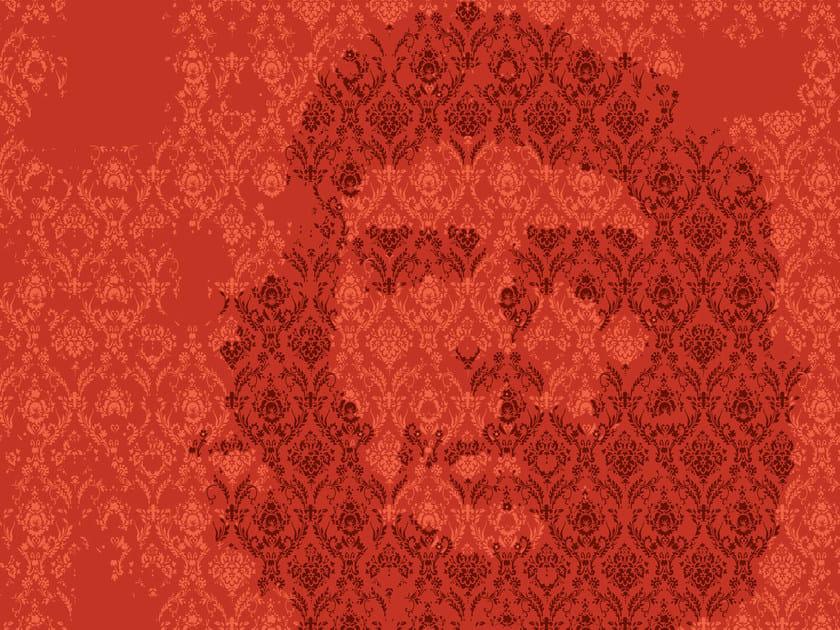 Motif geometric wallpaper MIND GAMES by Wall&decò