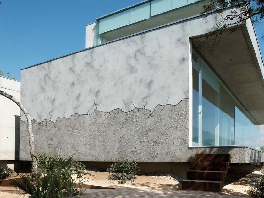 Wall effect outdoor wallpaper CRACK by Wall&decò