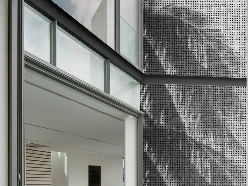Motif geometric outdoor wallpaper COCO SHADOWS by Wall&decò