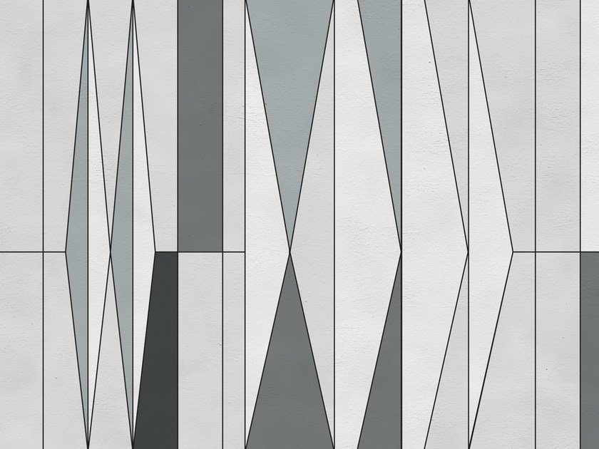 Geometric outdoor wallpaper GIO by Wall&decò