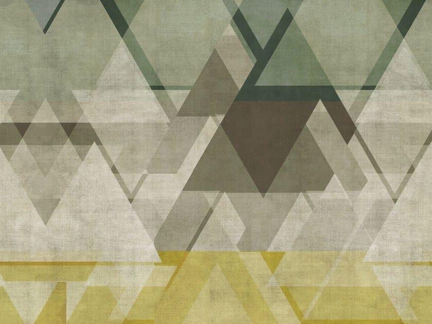 Carta Da Parati Geometrica.Carta Da Parati Geometrica Per Bagno Defrag Me By Wall Deco Design