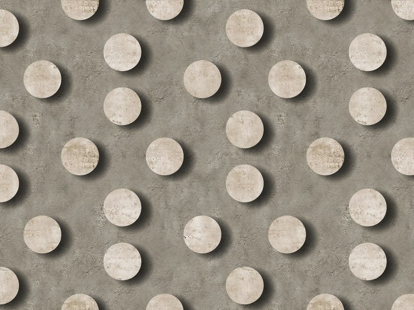 Dotted outdoor wallpaper POSITIVE by Wall&decò