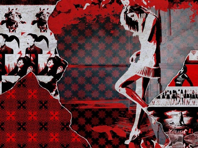 Outdoor wallpaper PLANET PUNK by Wall&decò