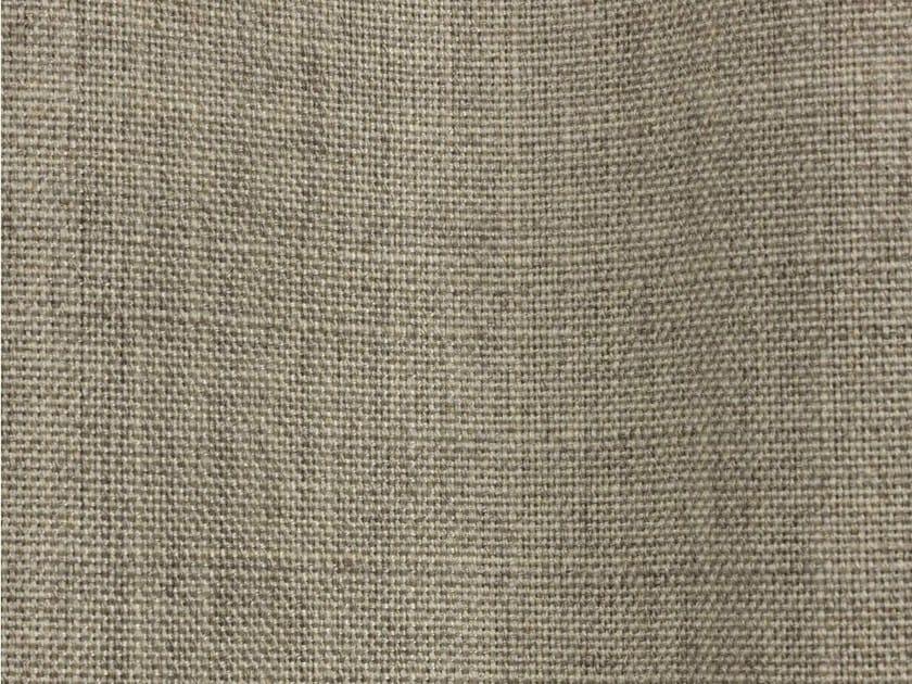 Solid-color fire retardant high resistance Trevira® CS fabric LINDON by Dedar