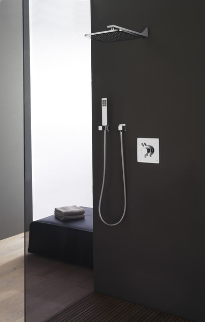 Thermostatic shower mixer REM | Thermostatic shower mixer by ZAZZERI