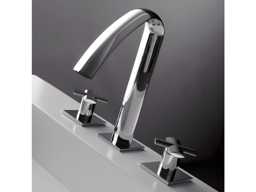 3 hole washbasin tap NOOX | 3 hole washbasin tap by ZAZZERI