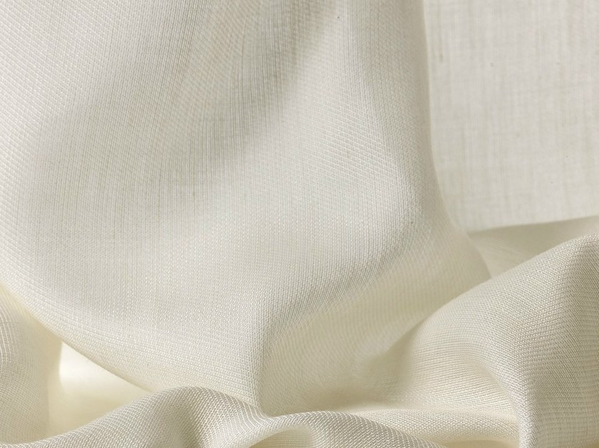 Sheer fabric for curtains EVEREST by Dedar