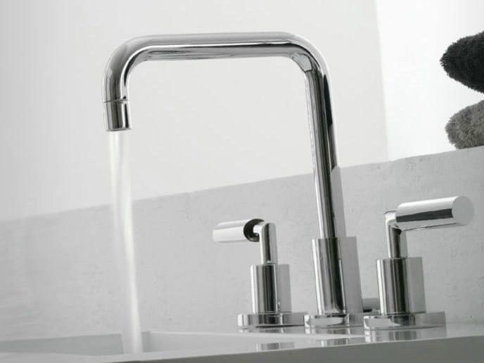 3 hole countertop washbasin tap DA-DA | 3 hole washbasin tap by ZAZZERI
