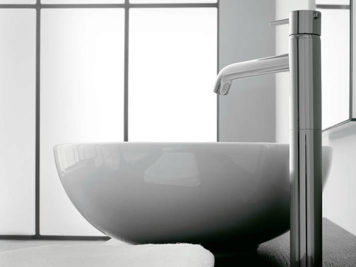 Countertop single handle 1 hole washbasin mixer MODO | Countertop washbasin mixer by ZAZZERI