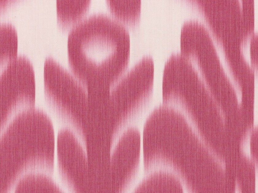 Washable high resistance Trevira® CS fabric with graphic pattern KATI by Dedar